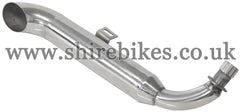 Custom Stainless Turn Out Exhaust System suitable for use with Monkey Bike Motorcycles