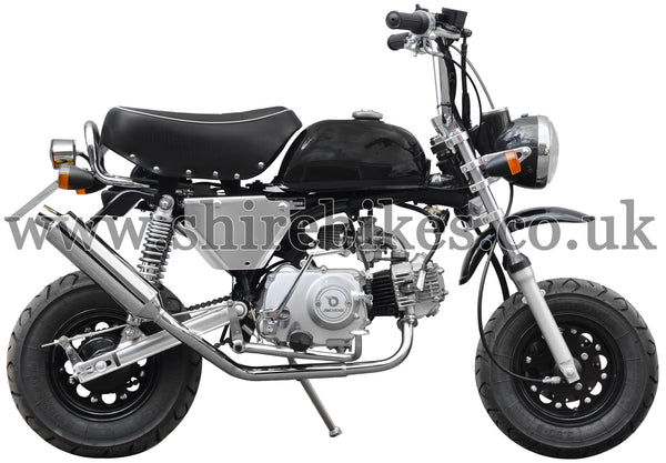Custom Aluminium Side Cover Kit suitable for use with Monkey Bike Motorcycles