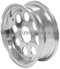 8 x 3.50 Custom Aluminium Wheel suitable for use with Monkey Bike Motorcycles
