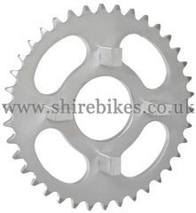 38T Rear Sprocket suitable for use with Dax 6V, Chaly 6V, Dax 12V
