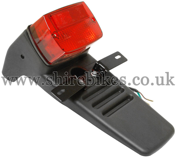 Reproduction Rear Mudguard & Light suitable for use with Dax 12V