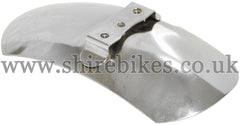 Reproduction (Economy) Chrome Front Mudguard suitable for use with Z50A