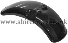 Honda Black Plastic Front Mudguard suitable for use with Z50J