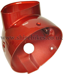 Honda Red Aluminium Head Light Bowl suitable for use with Dax 12V