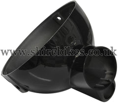 Honda Black Head Light Bowl (Single Warning Light) suitable for use with Z50J