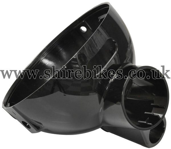 Honda Black Head Light Bowl (Double Warning Light) suitable for use with Z50J