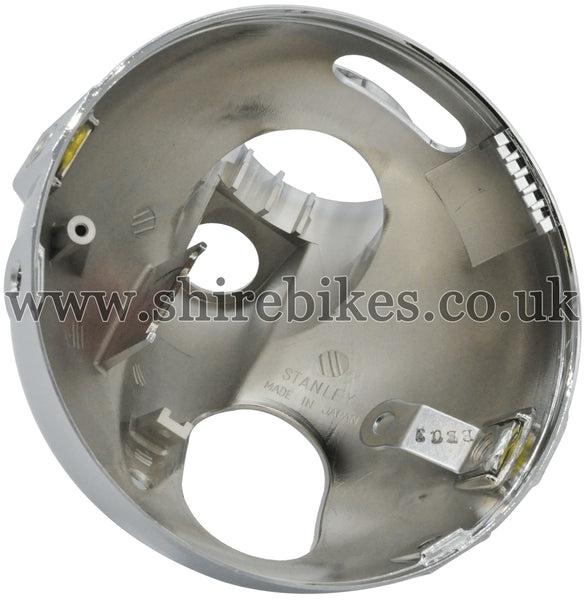 Honda Chrome Head Light Bowl (Double Warning Light) suitable for use with Z50J