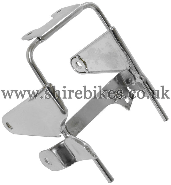 Reproduction Chrome Headlight Mounting Bracket suitable for use with Dax 12V