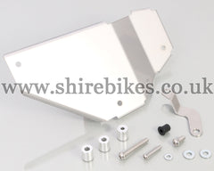 Kitaco Right-Hand Stainless Steel Side Cover Kit suitable for use with Monkey 125
