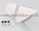 Kitaco Left-Hand Stainless Steel Side Cover Kit suitable for use with Monkey 125