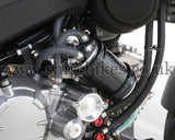 Kitaco Black Carbon Oil Catch Tank Kit suitable for use with MSX125 GROM, Monkey 125