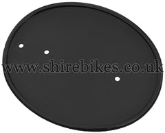 Custom Black Number Plate suitable for use with Z50R