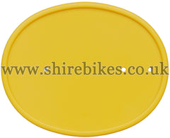 Reproduction Yellow Number Plate suitable for use with Z50R