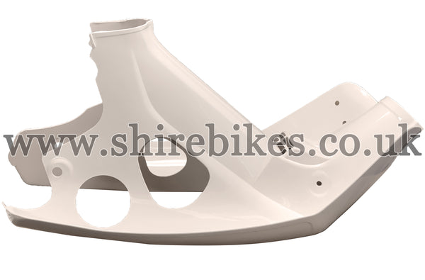 Honda Cream Leg Shield suitable for use with C90E (Electric Start Model)