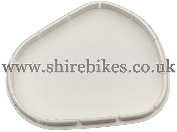 Honda Cream Carburettor Inspection Cover suitable for use with C90E