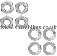 Honda 8mm Wheel Rim Nut & Washer Set suitable for use with Z50A, Z50J1, Z50R