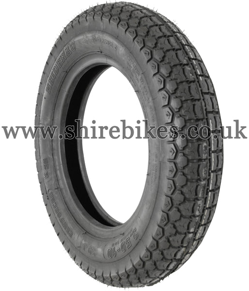3.50 x 10 Heidenau K38 Tyre suitable for use with Dax 6V, Dax 12V, Chaly 6V