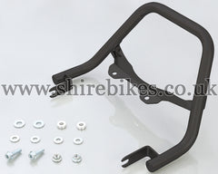 Kitaco Black Steel Rear Grab Bar suitable for use with Monkey 125