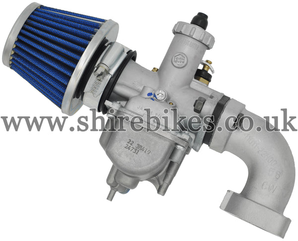 22mm Carburettor, Filter & Manifold Kit suitable for use with Monkey Bike Motorcycles