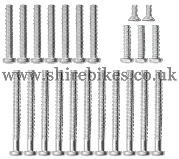 Honda Crankcase & Outer Case Screw Set suitable for use with CZ100