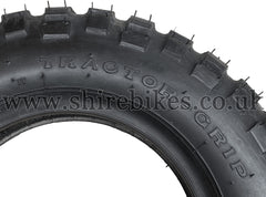 3.50 x 8 IRC TRACTOR-GRIP Knobbly Tyre