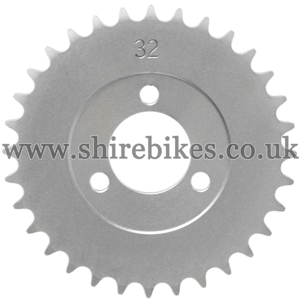 32T Rear Sprocket suitable for use with CZ100, Z50M, Z50A, Z50J1, Z50J, Z50R