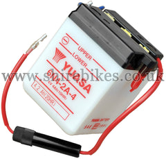 Yuasa 6N4-2A-4 6V Battery suitable for use with Chaly 6V