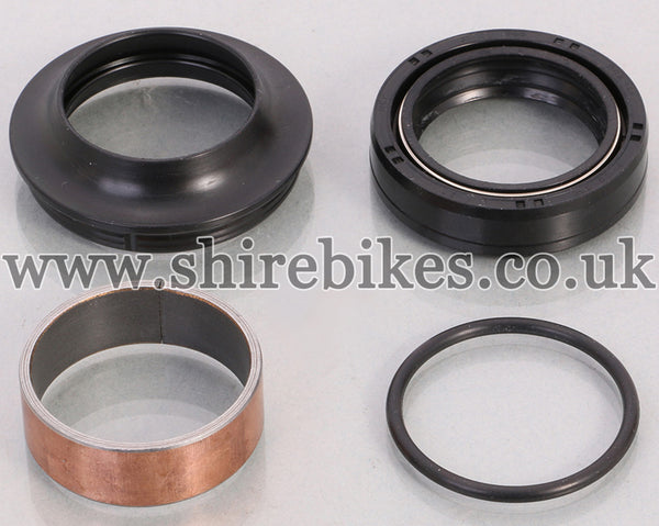 Kitaco Front Fork Seal Set suitable for use with MSX125 GROM (Later Models), Monkey 125
