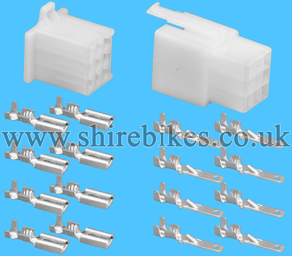 9 Pin Block Wiring Loom Harness Connector Plug