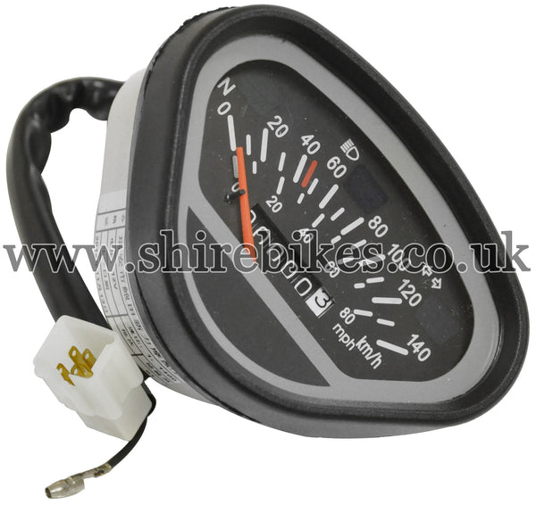 Reproduction Speedometer suitable for use with Dax 6V, Chaly 6V, Dax 12V