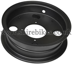 Honda Satin Black Steel Wheel Rims suitable for use with Z50J (Freddie Limited)