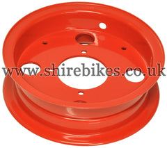 Honda Red Steel Wheel Rims suitable for use with Z50J (40th Limited)