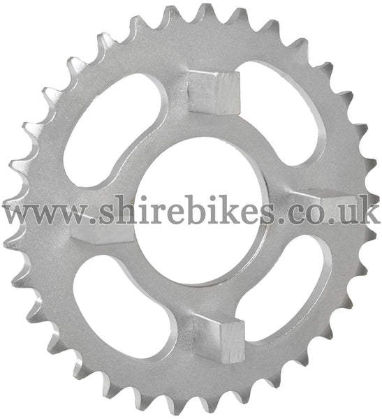 33T Rear Sprocket suitable for use with Dax 6V, Chaly 6V, Dax 12V