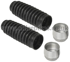 Reproduction Fork Gaiter & Aluminium Cup Set suitable for use with Z50A, Z50J1, Dax 6V, Chaly 6V