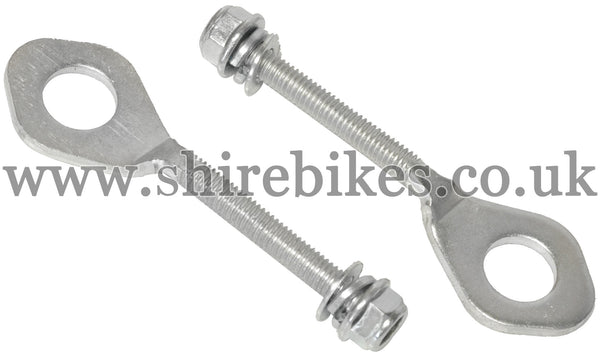 Reproduction Chain Adjusters (Pair) suitable for use with Z50J1, Z50R, Z50J, Dax 6V, Dax 12V, Chaly 6V
