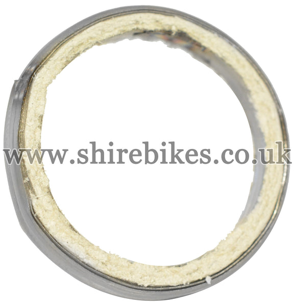 Reproduction 5mm Aluminium Exhaust Gasket suitable for use with CZ100, Z50M, Z50A, Z50J1, Z50R, Z50J, Dax 6V, Dax 12V, Chaly 6V, C90E