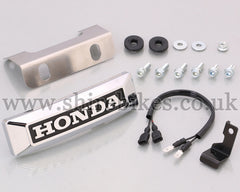 Kitaco Honda Front Badge suitable for use with Monkey 125