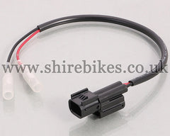 Kitaco Registration Plate Light Connector Harness suitable for use with Monkey 125
