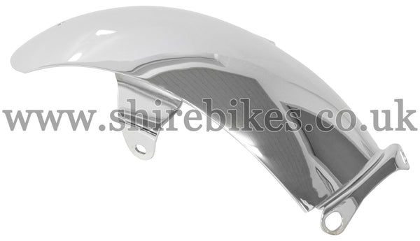 Honda Chrome Rear Mudguard suitable for use with Z50A