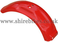 Honda Red Metal Rear Mudguard suitable for use with Z50J