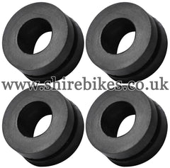Honda Rear Mudguard Rubbers for Plastic Mudguard (Set of 4) suitable for use with Z50R, Z50J