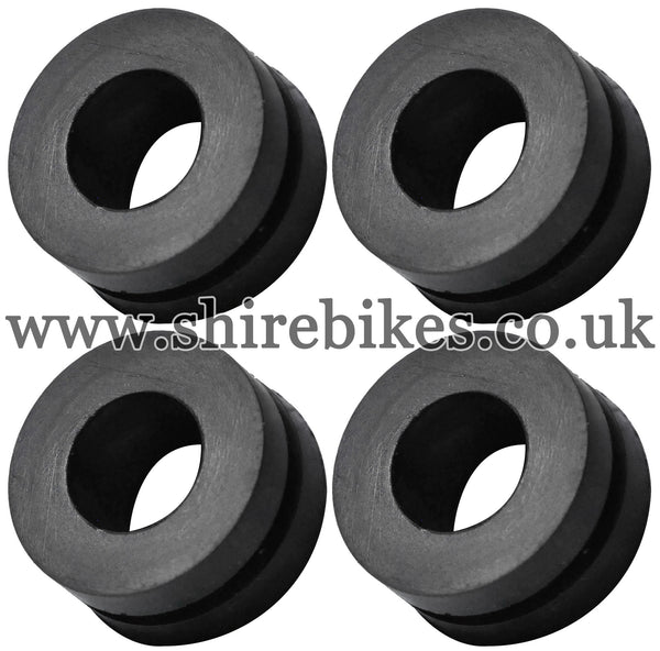 Honda Rear Mudguard Rubbers for Metal Mudguard (Set of 4) suitable for use with Z50J