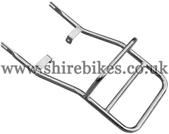 Aftermarket Chrome Rear Rack suitable for use with Dax 6V