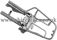 Honda Chrome Rear Rack (U-Lock Compatible) suitable for use with Z50J