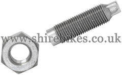 Honda Tappet Adjuster Stud & Nut suitable for use for Z50M, Z50A, Z50J1, Z50R, Z50J, Dax 6V, Chaly 6V, Dax 12V, C90E