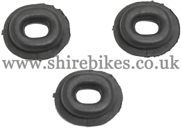 Reproduction Side Cover Grommet (Set of 3) suitable for use with Monkey Bike Motorcycles