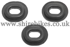 Honda Side Cover Grommet (Set of 3) suitable for use with Z50J1, Z50J