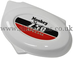 Honda White Side Cover suitable for use with Z50J (CBX400 Limited)