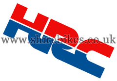 Honda Small HRC Sticker
