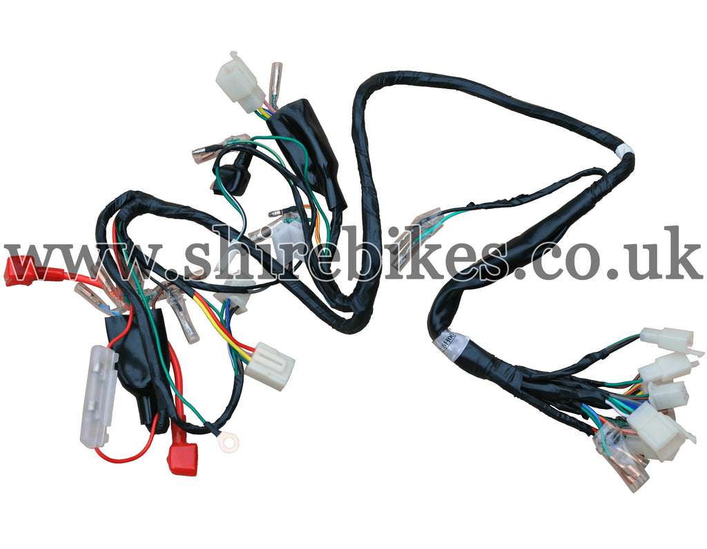 skyteam wiring loom harness suitable for use with chinese monkey Motorcycle Wiring Harness
